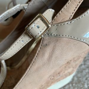 Gianni Bonni Nude Wedges